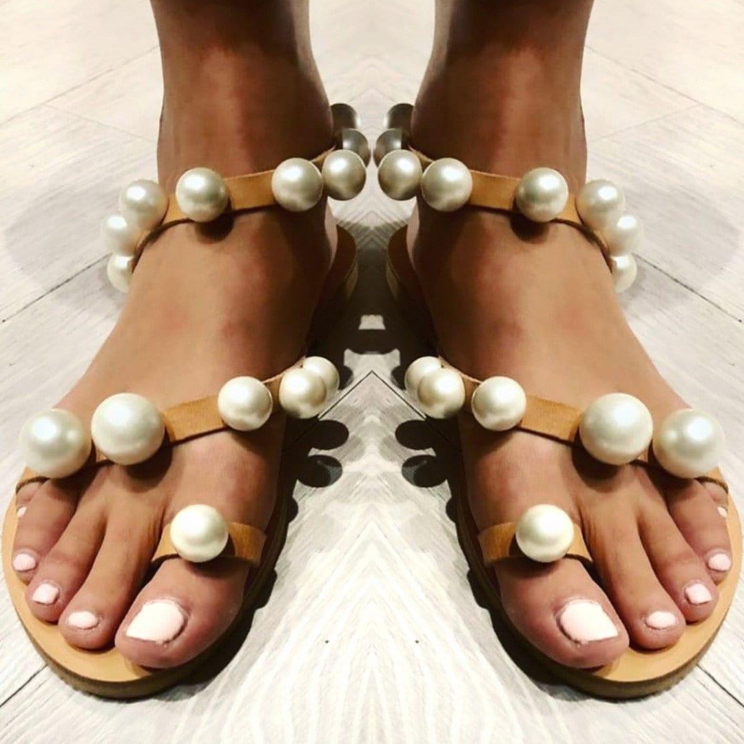 1a26b96947d Greek sandals pearl sandals gladiator sandals women shoes boho sandals leather  sandals embellished luxury sandals wedding sandals summer