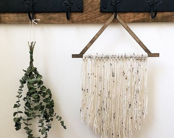 Boho wall decor | Yarn wall hanging | Gallery wall | Macrame wall hanging | Boho chic wall art | Bohemian wall decor | Bohemian decor