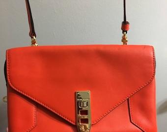 Henri Bendel orange Crossbody bag