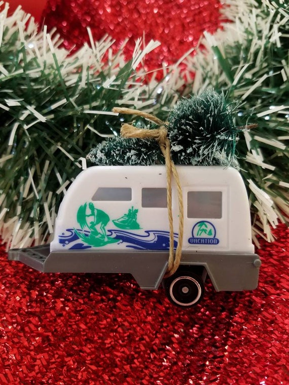Car With Christmas Tree On Top Decoration  from i.etsystatic.com