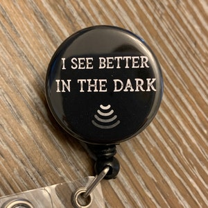 HYPOECHOIC or ANECHOIC Badge Reel Hot Cup: I Like My Coffee HYPERECHOIC sonographer sonography ultrasound humor gift non-script font