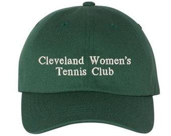 Tennis Club Dad Hat, Birthday, Mother's Day, Father's Day, Easter, Christmas, Birthday, Tennis Lover, Sports, Preppy, Best Friend Gift