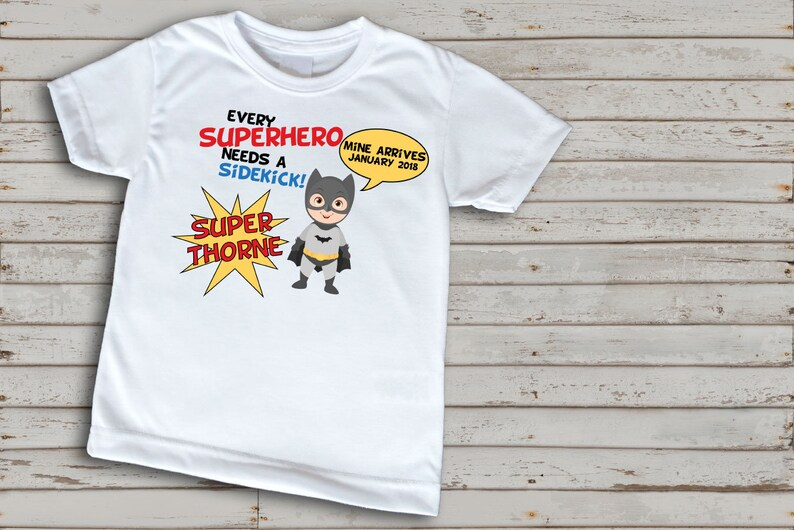 4e6c4980 Super hero big brother shirt Pregnancy announcement shirt   Etsy