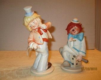 Two Goebel clowns