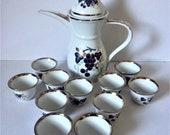 Vintage Dallah, Arabic Coffee Set.
