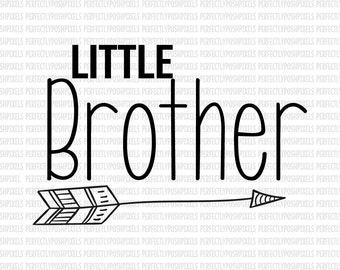 Little Brother Big Brother SVG Files Cutting Files for | Etsy