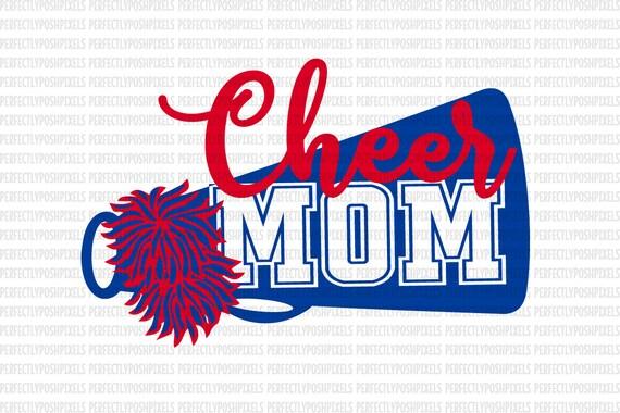 Cheer Megaphone Svg Cheer Mom Svg Cheerleader Sports Megaphone Etsy