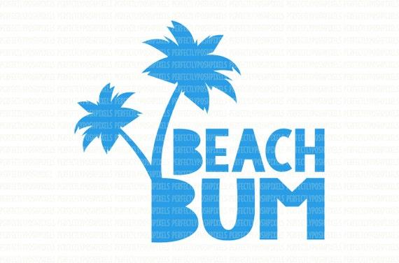 CUSTOM LICENSE PLATE OCEAN PALM TREE BEACH BUM AUTO TAG