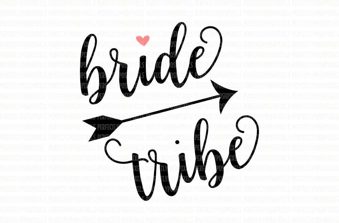 bride tribe svg file dxf eps png jpg printable clipart