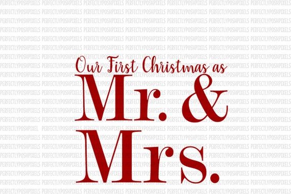 Our First Christmas Svg Cricut Expression Cut File Stencil Etsy