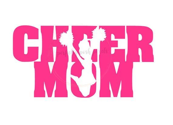 Cheer Mom Svg Cheerleader Sports Megaphone Cricut Design