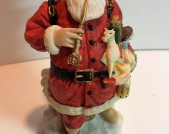 The International Santa Claus Collection, United States, SC06, 1992, Original box, Christmas, Made in China, figurine