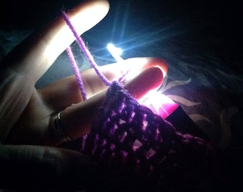 Lighted Crochet hook
