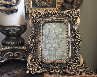 """4"""" x 6"""" Ornate Frame with Bling - FREE SHIPPING"""