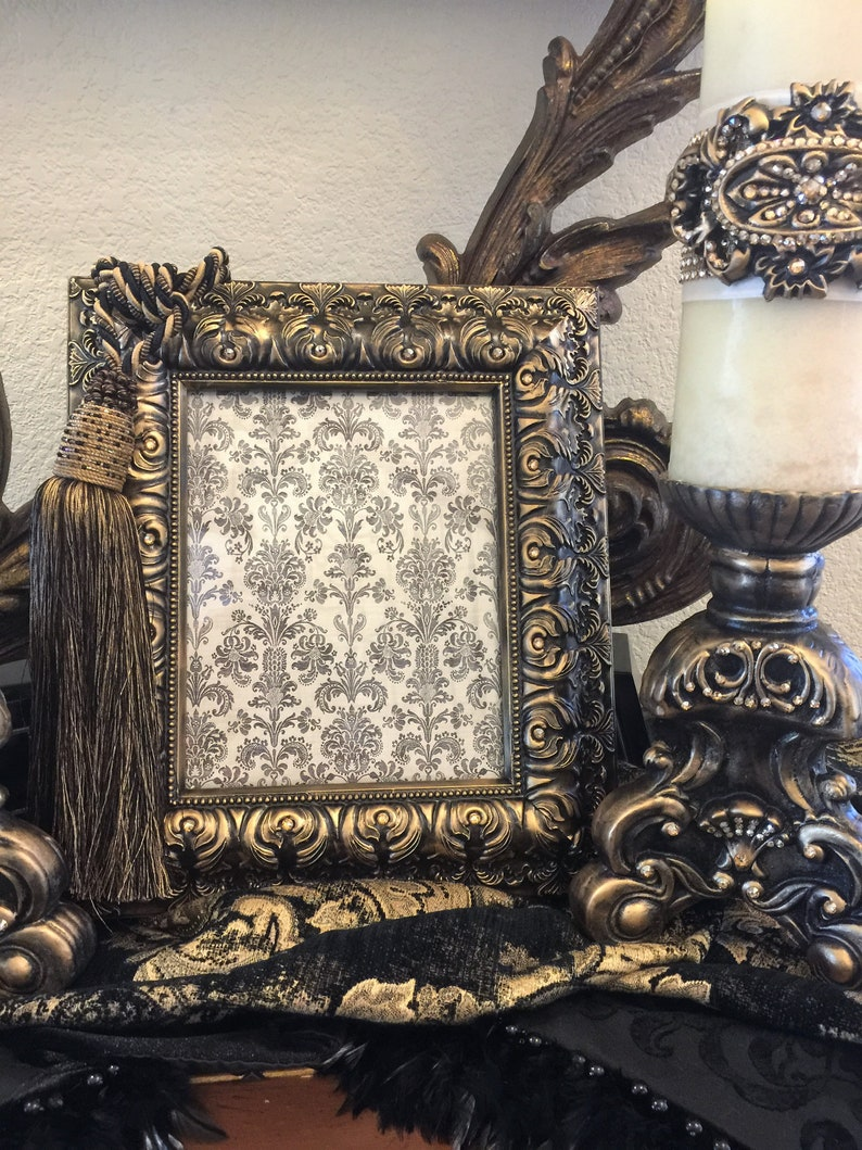 FREE SHIPPING 8 x 10 Tabletop Frame with BLING