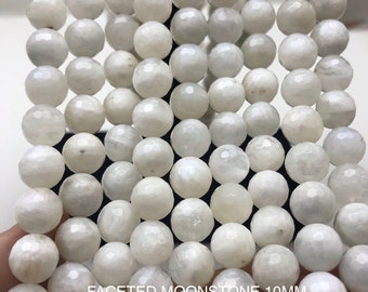 255-8MM White Faceted Beads  CLEARANCE PRICE MUST SELL THEM!!