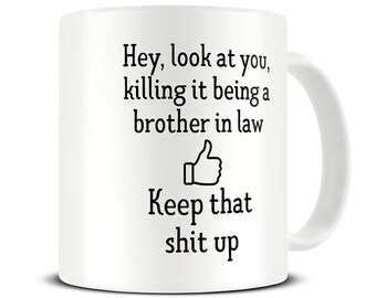 Brother In Law Gifts Mug Wedding Funny Mugs MG703