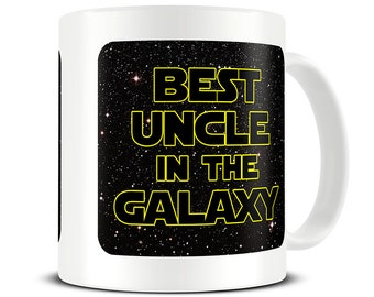 Uncle Gifts Mug Best In The Galaxy Coffee Funny Gift Ideas Birthday For MG702