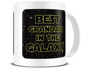 Grandad Gifts Mug Best In The Galaxy Coffee Grandpa Gift Ideas Birthday MG698