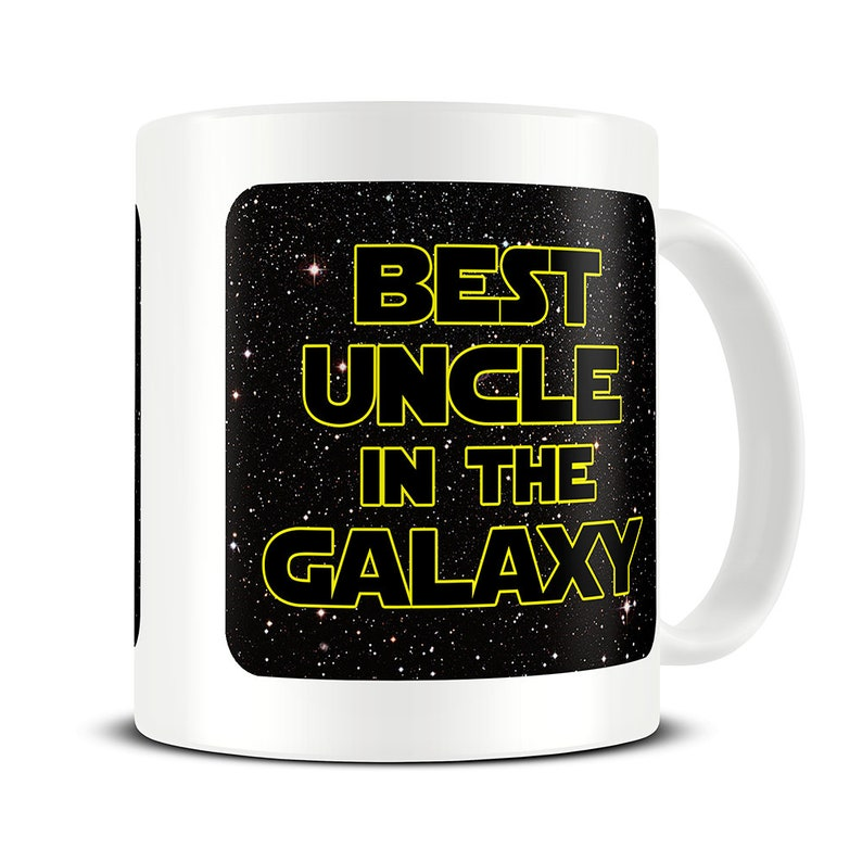 Uncle Gifts Mug Best In The Galaxy Coffee
