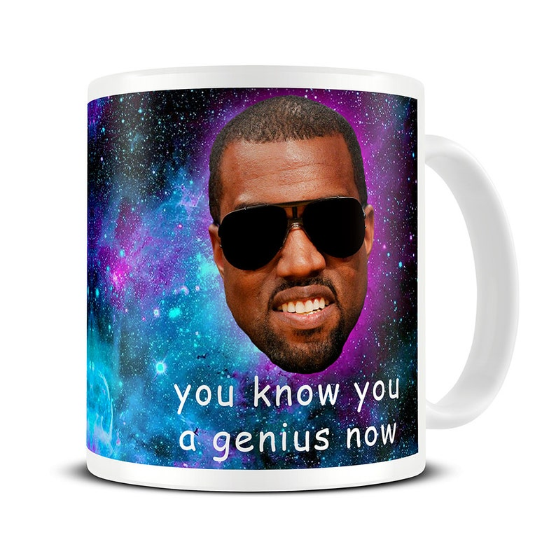 college graduation gifts for boys - you know you a genius now mug