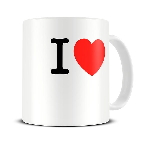 personnalis i love mug tasse caf personnalis e mug etsy. Black Bedroom Furniture Sets. Home Design Ideas