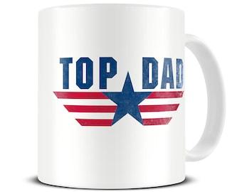 Top Dad Coffee Mug - dad mug - gift mug for dad - father's day gift - MG355