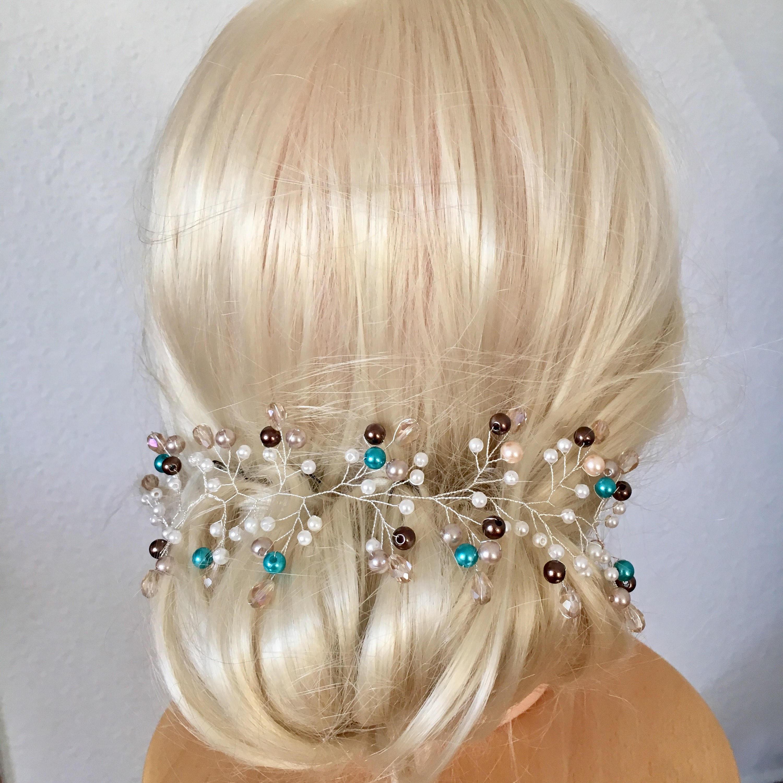 Hair Wire Fur Jewelry Necklaces Twig Vine Festive Bride Hair Etsy