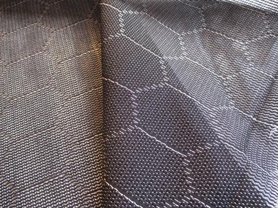 Japanese vintage kimono silk blend fabric Beautiful Carnation