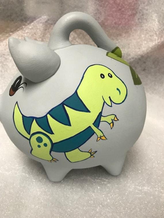 Piggy Bank Dino-mite!