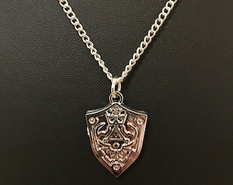 The Legend of Zelda Twilight Princess Shield Necklace
