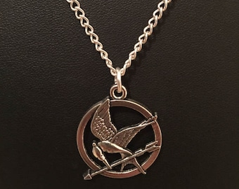 The Hunger Games Inspired Katniss Mockingjay Bird Necklace