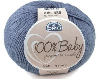 Laine layette Merinos 100% baby DMC 072