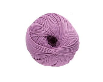 Malva de n ° 31 Natura para hacer punto o ganchillo de algodón