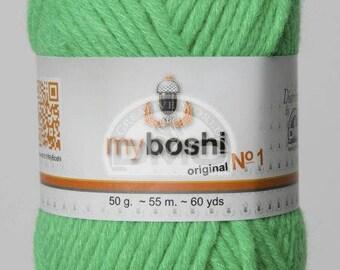 Wool My Boshi Neon green 184