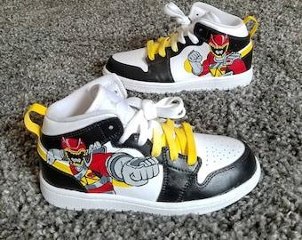 Power Rangers Custom Jordan 1 Mid aa4b32eea