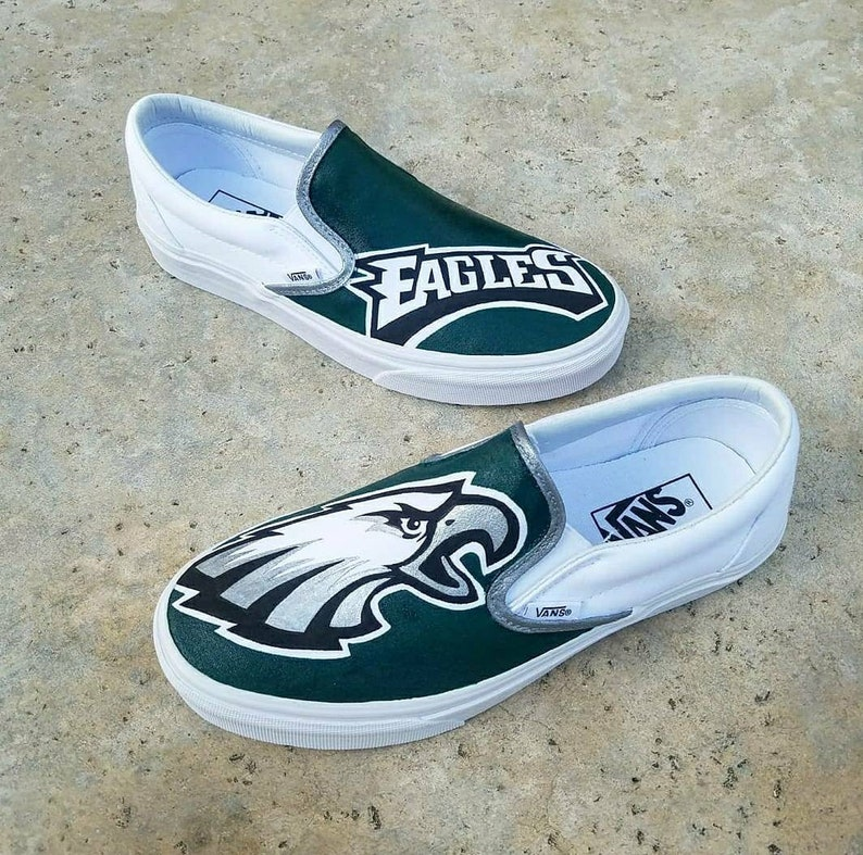 ab20ab3867a55 Philadelphia Eagles Custom Vans