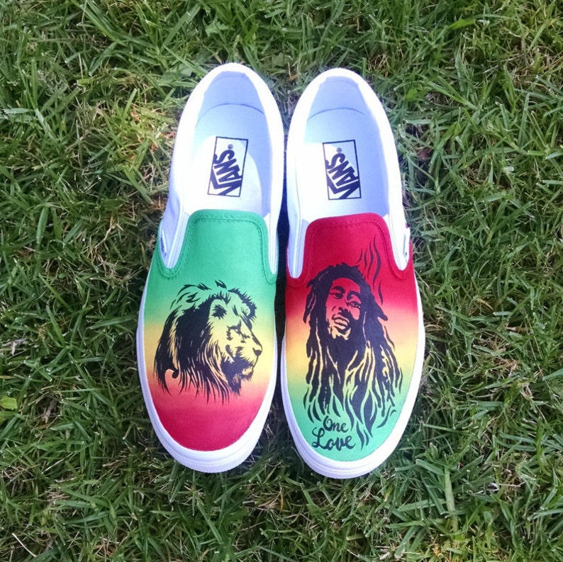 e024254b36761e Rasta Marley Custom Vans