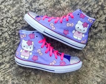 Hello Kitty Custom Converse