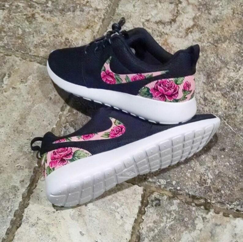 97782db8ddd1b Floral Custom Nike Roshe One