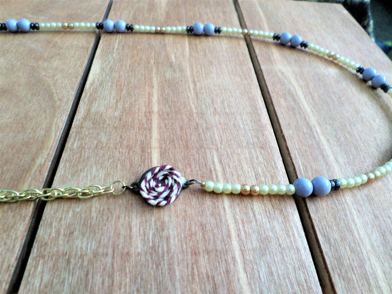 Necklace Charm Long Necklaces for Women Boho Seed Bead Necklaces Silver Necklace Long Beaded Necklaces Necklace Gold Beaded Necklace