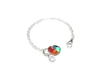 Bracelet, woman, chain, color, fashion accessories