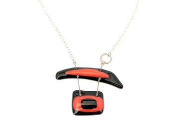 Collier verre fusion / bijoux / accessoires mode / LapareBijoux