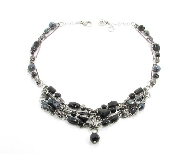 D'une épingle à l'autre /  collier original / recyclé / accessoires mode / LapareBijoux