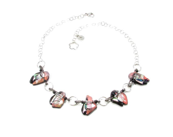 Women's necklace, jewelry, colorful, bright, gifts, fashion accessories, trend