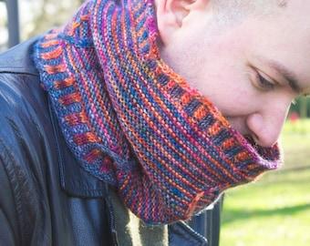 Expanse Cowl pattern ~ Knitting Pattern ~ Slip stitch cable pattern ~ knitting gift ~ Neckwarmer ~ Dk weight cowl ~ DIY cowl