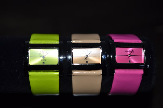 Discontinued Joan Rivers Classics Leather Watch