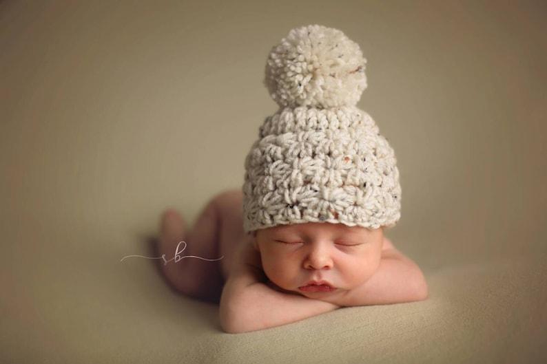 914839fa7d2 Infant Crochet Hat Winter Hat Star Crochet Hat Infant