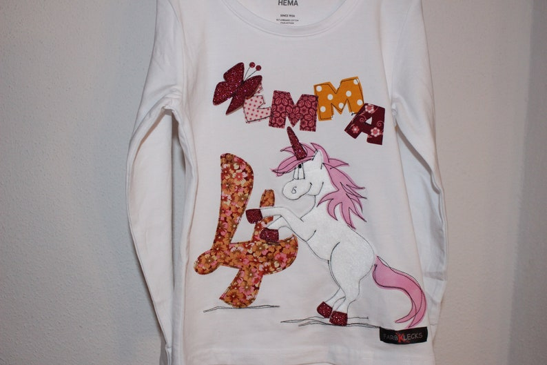 692f0fea89bbb4 Birthday Shirt Birthday Shirt kids Unicorn Shirt for Girls | Etsy