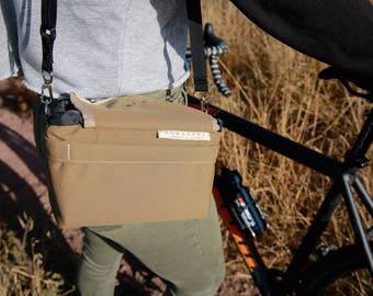 Handlebar Bag your Bike, Easy Drawcord Access while Cycling, Custom Color